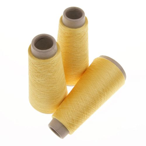 111. Spun Silk Yarn - Yellow 4545
