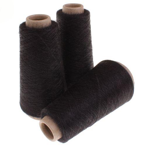 102. 60% Silk & 40% Nettle Fibre - Black 3020