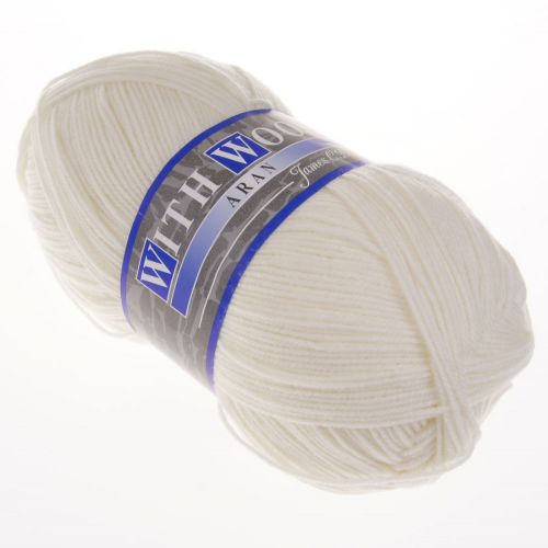 102. With Wool - Cream